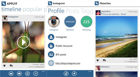 "InPic, el cliente de Instagram para Windows ""InstaPic"" ahora llega a Windows Phone 8"
