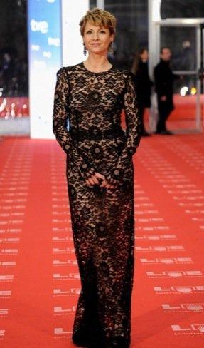 Peor vestidas Goya 2011: Najwa