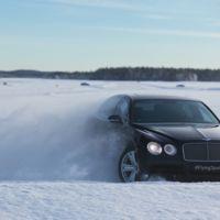 Bentley Bentayga demostrará sus cualidades sobre hielo