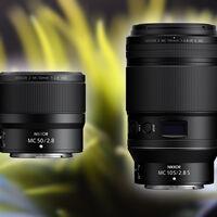 Nikkor Z MC 105mm f/2.8 VR S y Z MC 50mm f/2.8, presentadas las dos primeras ópticas macro de montura Z (y anunciadas otras dos fijas)