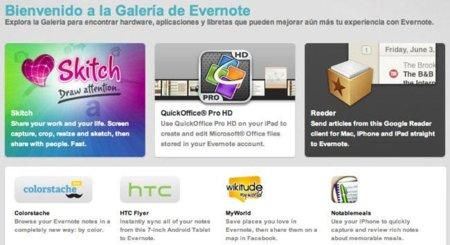 Cinco aplicaciones para personalizar el uso de Evernote