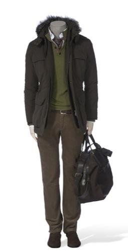 Looks de invierno de Massimo Dutti, chaquetón