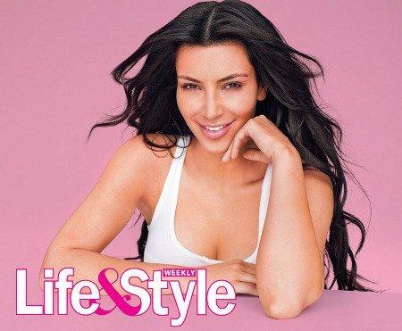 Sin maquillaje: ahora le toca a Kim Kardashian