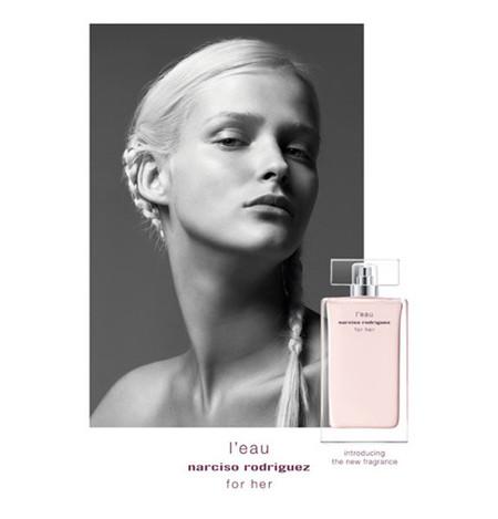 """""""For Her L'Eau"""", la nueva fragancia de Narciso Rodríguez"""