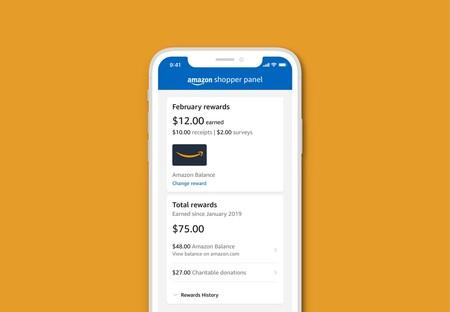 Amazon Shopper Panel: un servicio que paga a los usuarios por compartir tickets de lo que han comprado fuera de Amazon