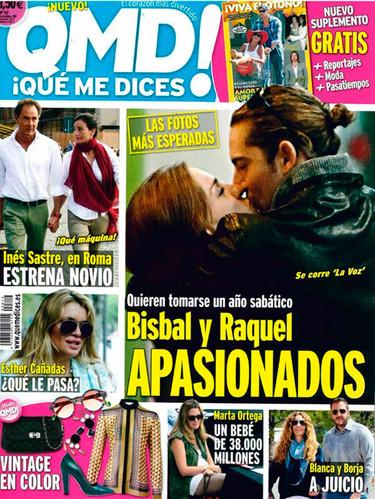 Qué acaramelados se nos ponen Raquel Jimenez y Bisbal