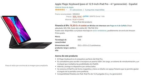 Oferta Magic Keyboard Ipad Pro