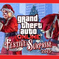 Ho, Ho, Ho... llega GTA Online Festive Surprise 2015
