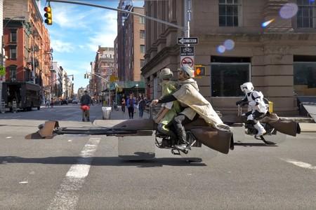"""Estas Speeder de Star Wars que """"levitan"""" de verdad son lo más alucinante que vas a ver en mucho tiempo"""