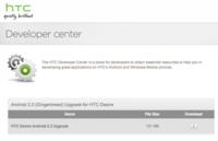 Gingerbread disponible oficialmente para HTC Desire (pero HTC sólo recomienda actualizar a usuarios expertos)
