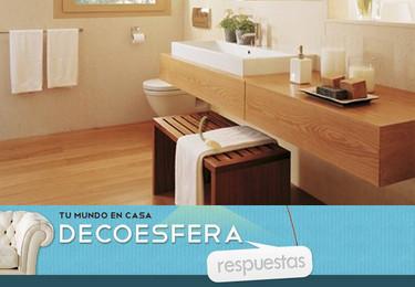 ¿Suelo de madera en el baño de cortesía, sí o no? La pregunta de la semana