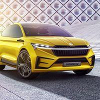 El Vision iV es la antesala de los coches eléctricos de Škoda: un SUV coupé con 306 CV y 500 km de autonomía