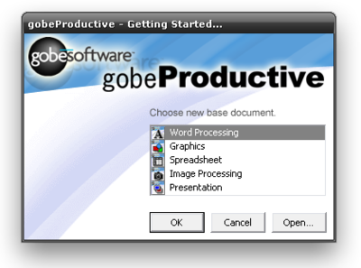 Gobe Productive, una suite ofimática alternativa y muy ligera