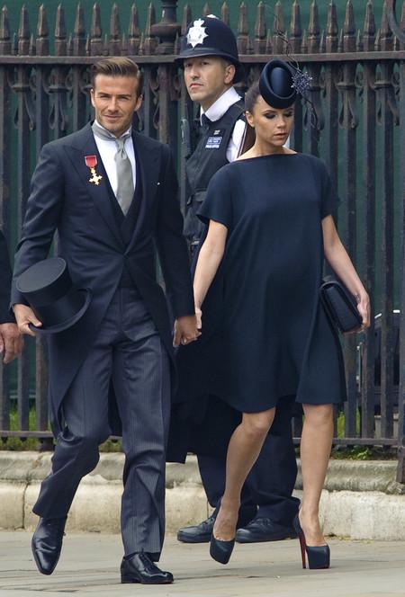 David Y Victoria Beckham 20 Aniversario Boda 2011