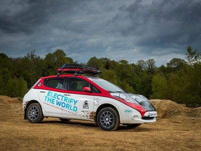 ¿Te imaginas recorrer 16 mil kilómetros a bordo de un Nissan LEAF?