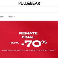 Remate final en Pull & Bear: hasta 70% de descuento en decenas de prendas