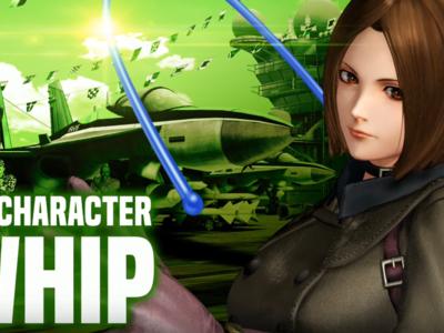 The King of Fighters XIV: Whip es la primera luchadora de post-lanzamiento  y este es su tráiler