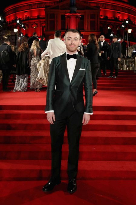 Sam Smith British Fashion Awards Red Carpet 2017