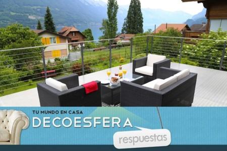 ¿Qué material preferís para los muebles de la terraza? La pregunta de la semana