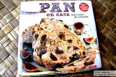 Pan en casa del horno al corazón. Libro