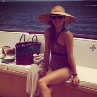 ¡Olivia Palermo divina en alta mar!