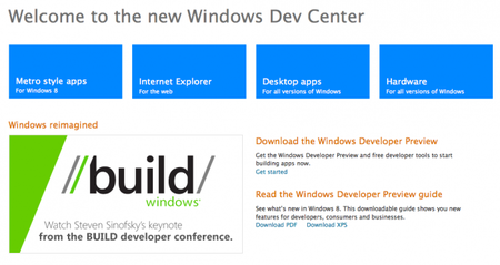 Microsoft presenta en BUILD grandes novedades en el Windows Dev Center