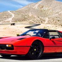 Este Ferrari 308 GTS renació de sus cenizas, para ser el primer cavallino 100% eléctrico