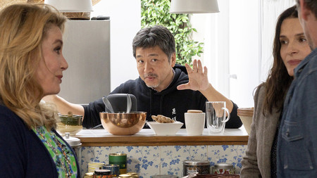 """""""Me gustan las peliculas de superheroes pero es un cine de extremos y yo me muevo en el gris"""" Hirokazu Koreeda ('La verdad')"""
