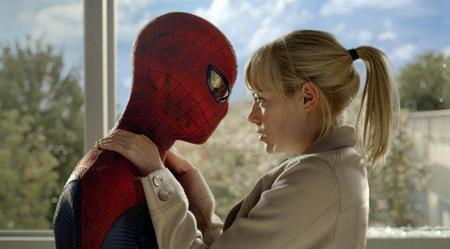 Emma Stone con Spiderman