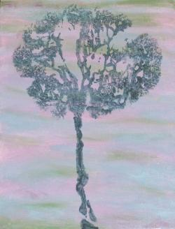 Pintar con la placenta