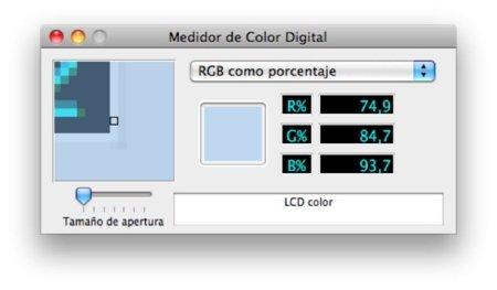 ColorSnapper, adivinando los colores de tu pantalla