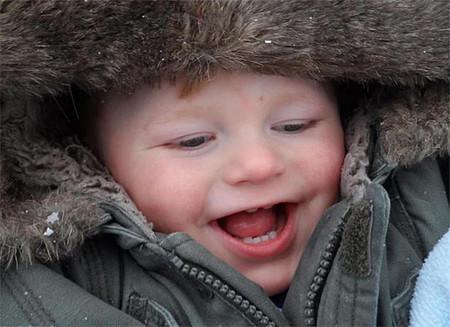Síndrome de Angelman: el bebé que nunca deja de sonreir