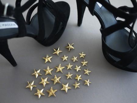 diy sandalias estrelladas