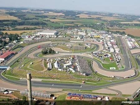 Previo Alemania 2009, circuito de Sachsenring