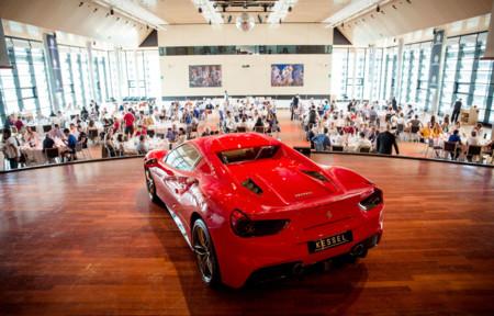 Cars and Coffee Ferrari 488 GTB