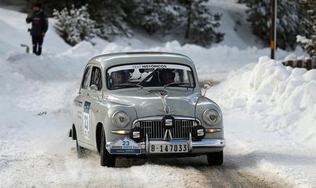 El SEAT 1400 de rally vuelve 65 años después a surcar los tramos del Rally Monte-Carlo Histórico 2020