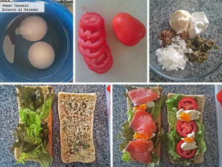 Preparacion Sandwich