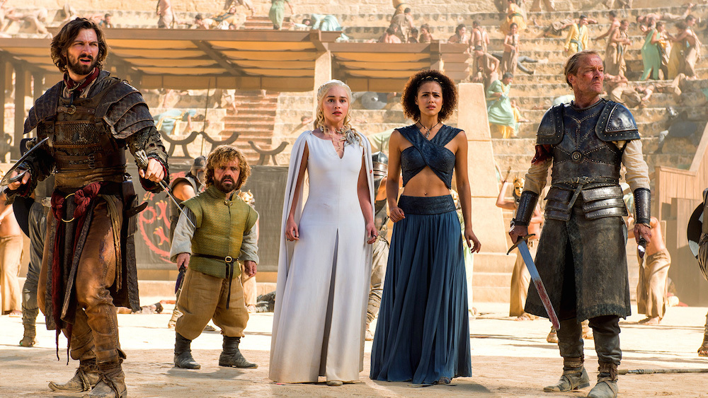 Daenerys Targaryen vestuario 5 temporada Juego de Tronos