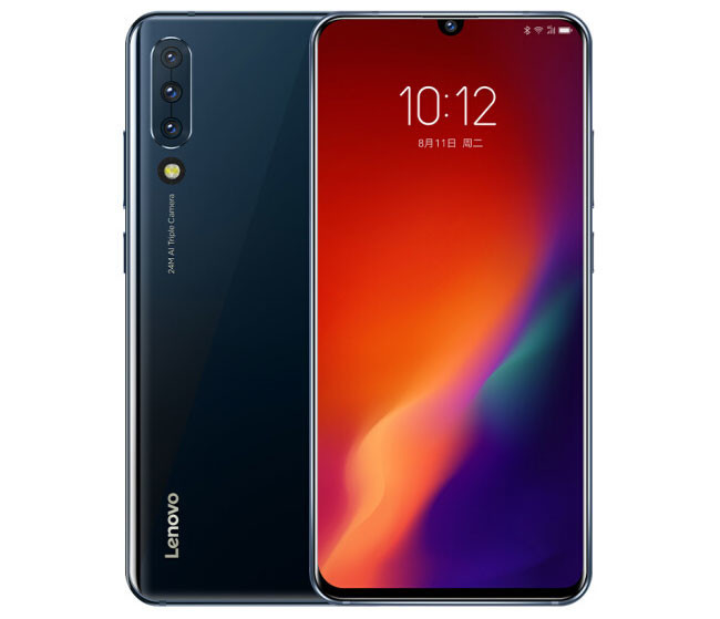 Lenovo Z6: now with camera triple and 4,000 mAh battery
