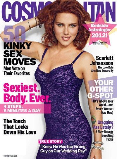 Scarlett Johansson más buenorra que de costumbre y de nuevo peliroja