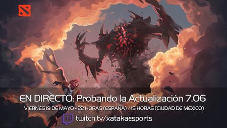 Probamos en directo la Actualización 7.06 de Dota 2 a las 22:00 horas (las 15:00 horas en Ciudad de México) [Finalizado]