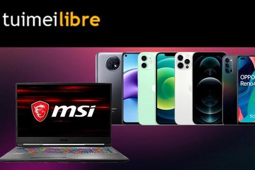Smartphones de Apple, Xiaomi y OPPO o portátiles MSI a precios superrebajados en las ofertas de la semana de tuimeilibre