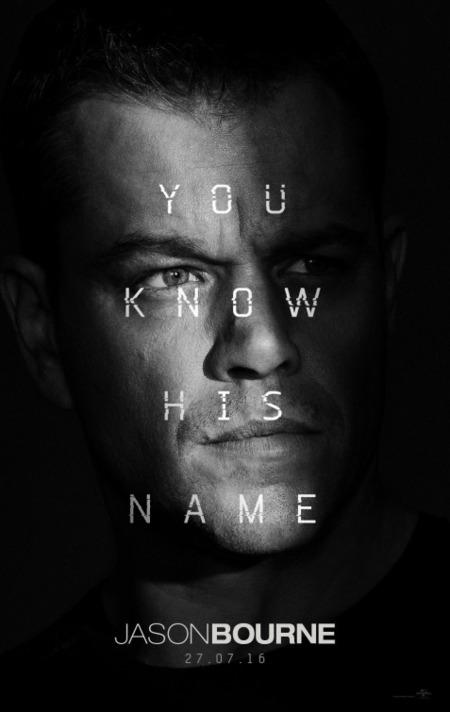 'Jason Bourne', carteles