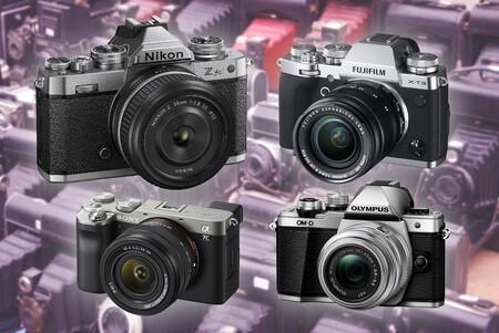 La Nikon Z fc no es la única cámara del mercado con un diseño de inspiración vintage