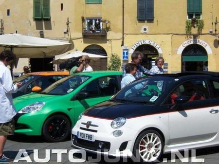 Top Gear graba en Italia con pequeños utilitarios deportivos