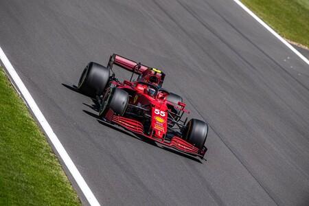 Sainz Silverstone F1 2021