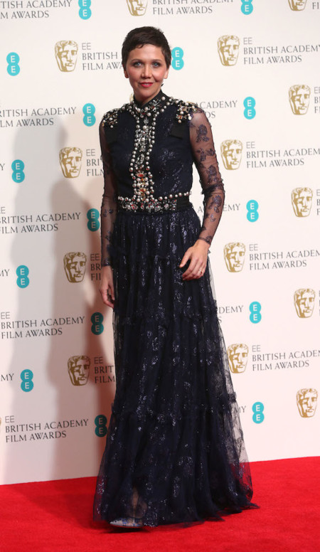 Maggie Gyllenhaal BAFTA 2014