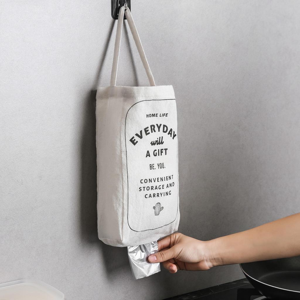 Bolsas de basura caja de almacenamiento estante de almacenamiento cocina dormitorio baño bolsas de basura soporte de almacenamiento del hogar organizador 528