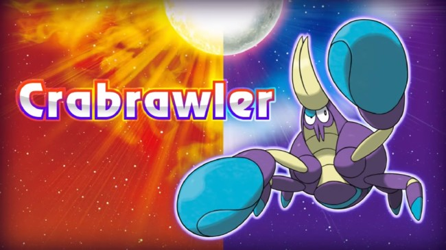 Pokemon Sol Luna Crabrawler