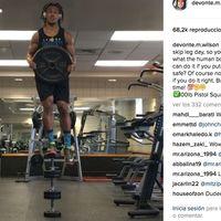 """Devonte Wilson, el rey del """"fitness imposible"""" (Vídeo)"""